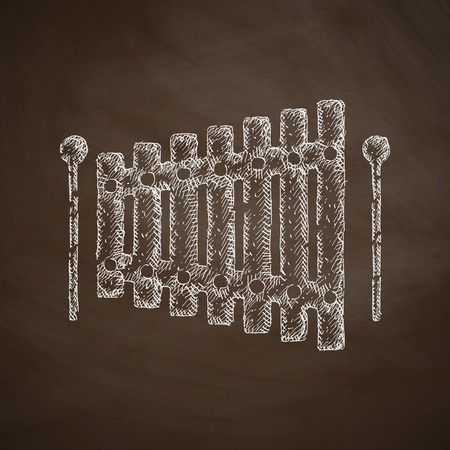 xilofono: icono xil�fono