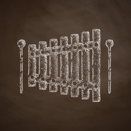 xylophone: xylophone icon
