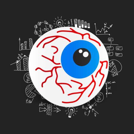 formulas: Drawing business formulas: eye