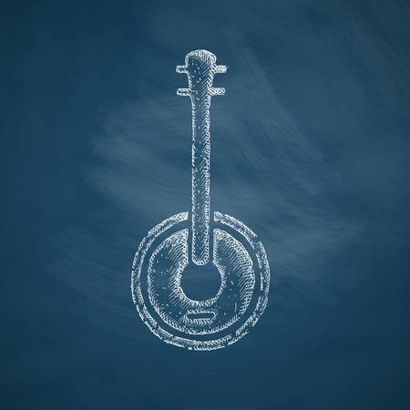 banjo pictogram