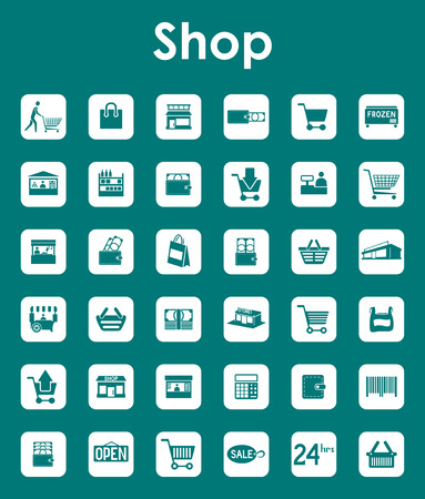 commodity: It is a set of shop simple web icons