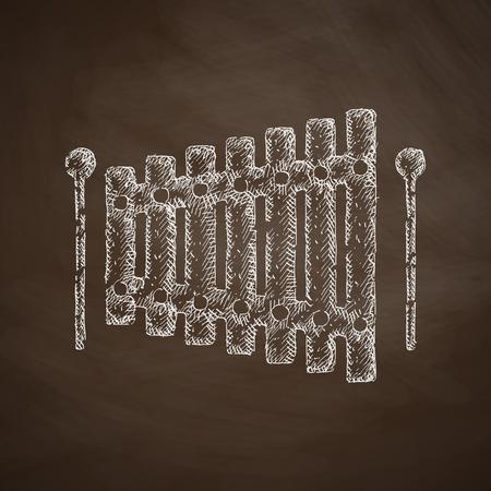 xilofono: icono xilófono