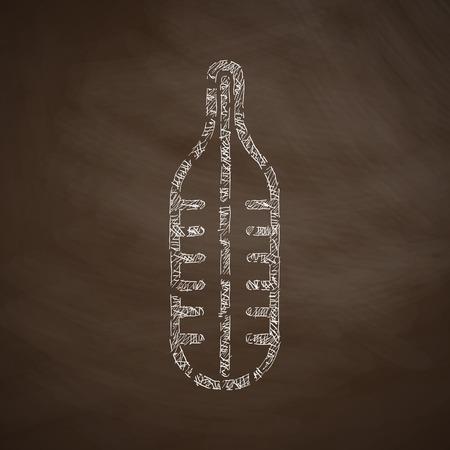 titreme: termometre simgesi Çizim