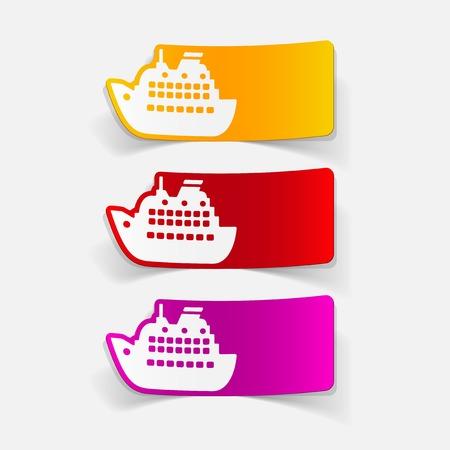 titanic: realistic design element: liner