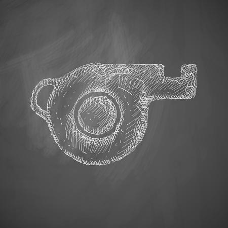 trill: whistle icon