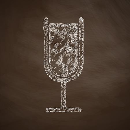 spirituous: cocktail icon Illustration