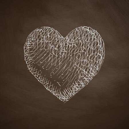 chastity: heart icon