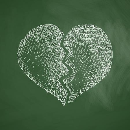 infatuation: broken heart icon