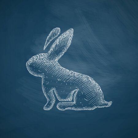 conejo pascua: icono Conejo de Pascua
