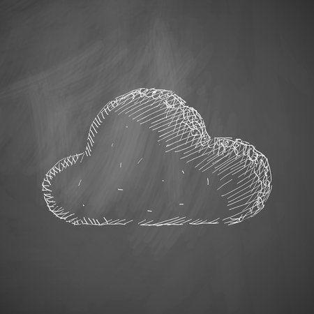 evaporation: cloud icon Illustration