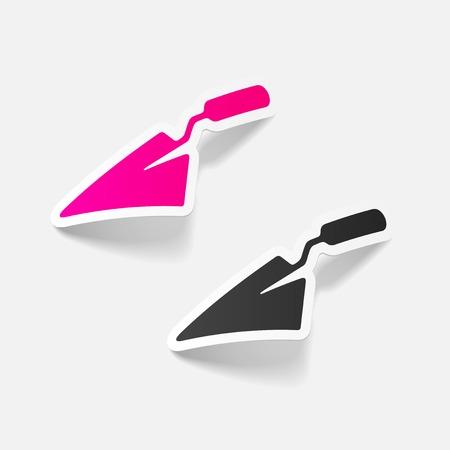 trowel: realistic design element: trowel Illustration