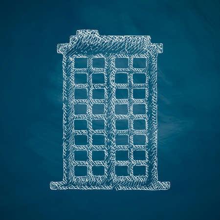 premises: building icon Illustration