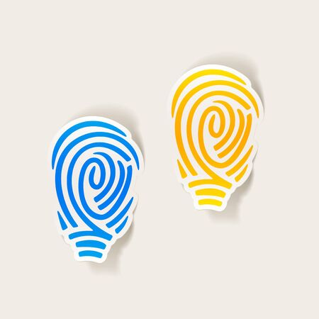 fingerprinting: realistic design element: fingerprint