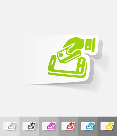 liabilities: realistic design element. online payment