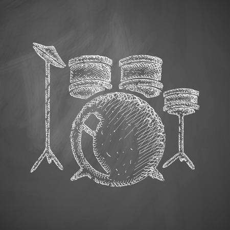 drum set: drum set icon