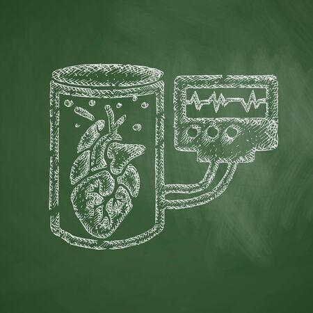engineering icon: tissue engineering icon Illustration