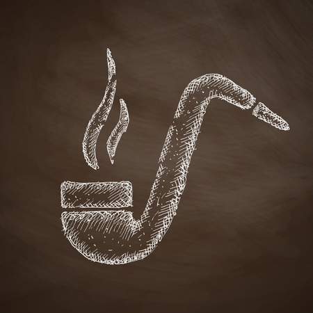 tobacco pipe: tobacco pipe icon
