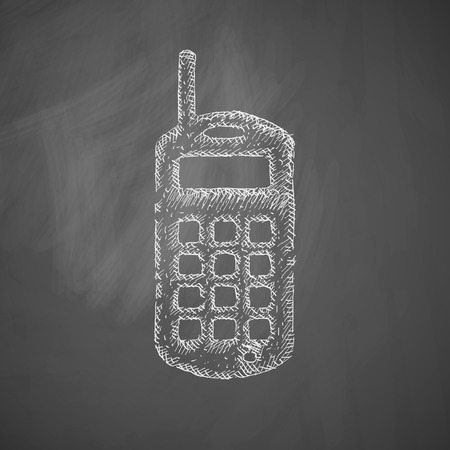 old phone: old mobile phone icon