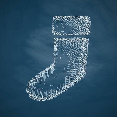christmas sock: christmas sock icon