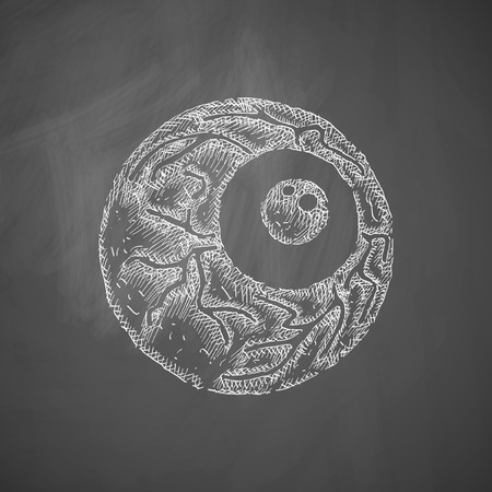 human eye: eye icon