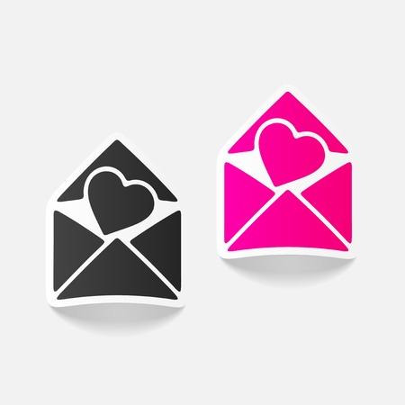 infatuation: realistic design element: heart