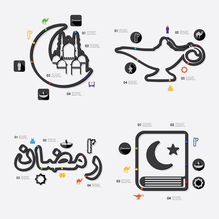quran: ramadan infographic