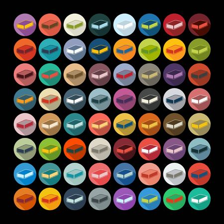 soap suds: Flat design: soap