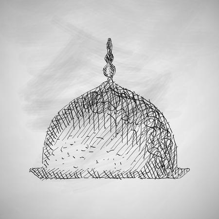 quran: mosque icon