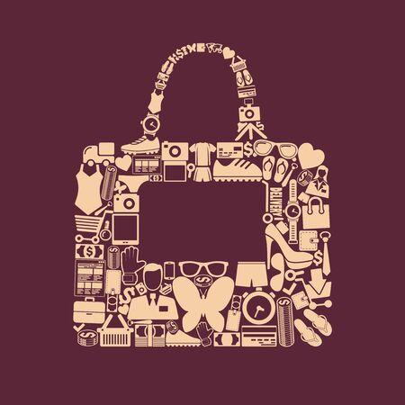 with bag: bag icon