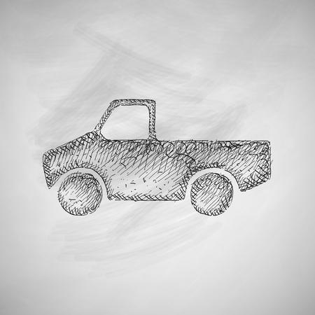 pickup: car pickup icon