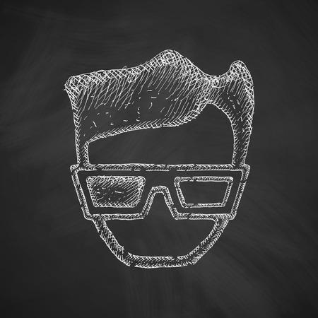 3d glasses: 3d glasses icon