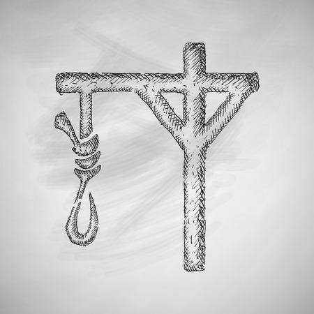 inevitability: gallows icon