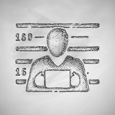 detention: suspect icon