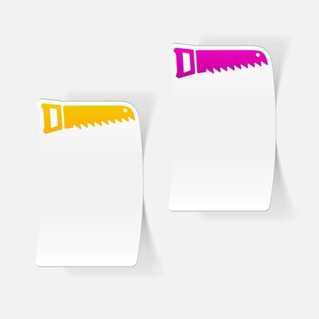 nag: realistic design element: hand saw