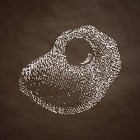 scrambled: scrambled icon Illustration