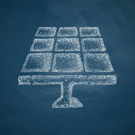 solar battery: solar battery icon