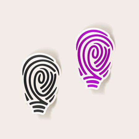 alibi: realistic design element: fingerprint
