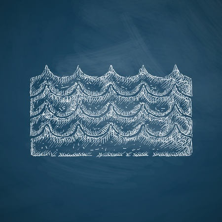 fluctuation: wave icon
