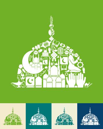 allah: mosque icon