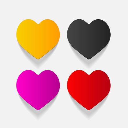 chastity: realistic design element: heart