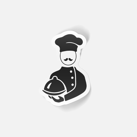 professionalism: realistic design element. cook