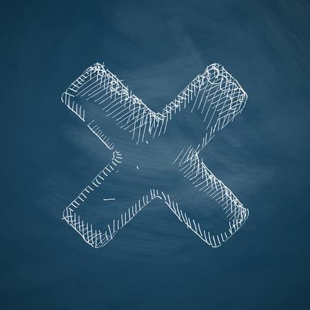 refusing: cross icon