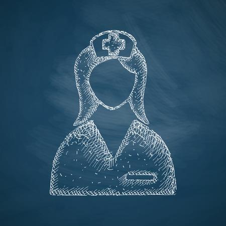 school nurse: nurse icon