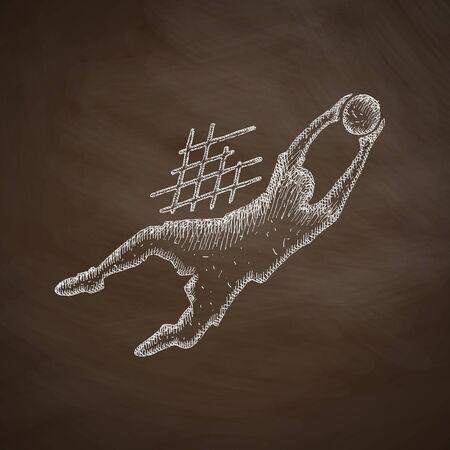 goalkeeper: goalkeeper icon