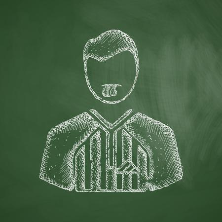 trainer device: referee icon