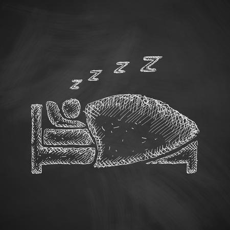 snoring: sleep icon