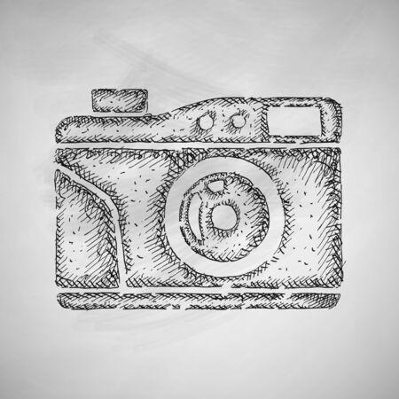 photocamera: old photocamera icon
