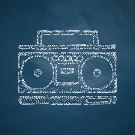 recorder: cassette recorder icon