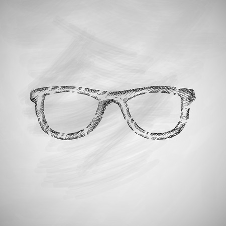 lithography: glasses icon