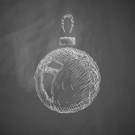 크리스마스 공: christmas ball icon